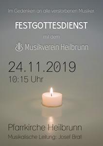 Festgottesdienst 2019